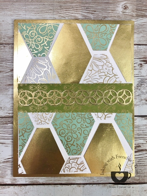 Ornate Designer Paper showcase with Frenchie Team.