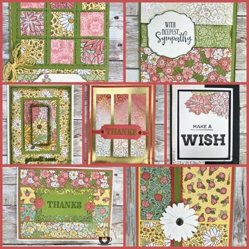Ornate Garden Designer Paper Showcase #3