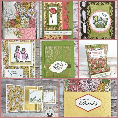 Ornate Garden Designer Paper Showcase #2