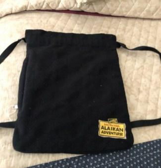 String felt bag 5.00
