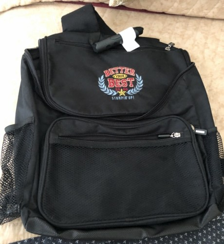 Better your best backpack 12.00