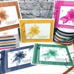 Monochromatic with each Stampin