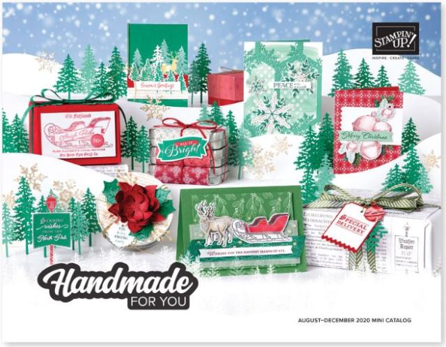 Holiday Aug-Dec 2020 Stampin'Up! Catalog product available to order now
