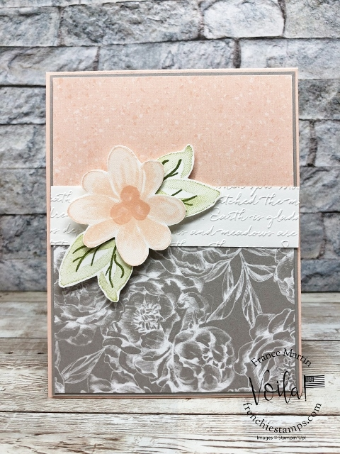 Tips to stamps with Distinktive Stamp Set Gorgeous Posies