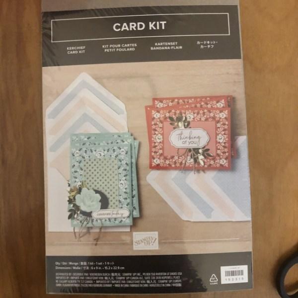 Kerchief Card Kit.