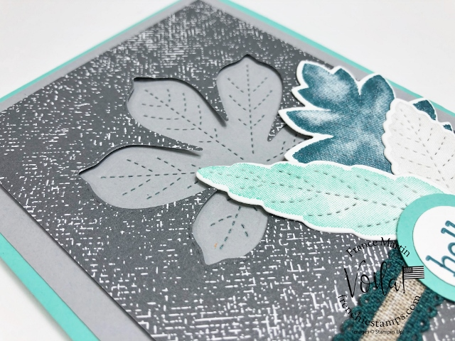 Tips video for the Stitched Leaves Dies.