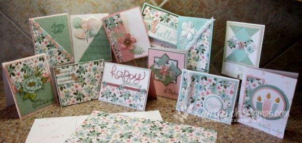 One Sheet Wonder Birthday Bouquet Designer Paper