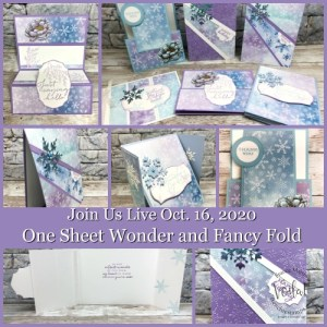 One Sheet Wonder with Snowflakes Splendor
