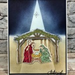 Spotlight On Peaceful Nativity