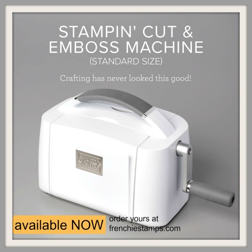 Stampin' Cut and Emboss Machine