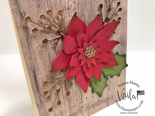 Poinsettia Petals on In Good taste Designer paper.