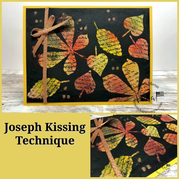 Joseph Kissing Stamping technique.