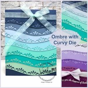 Curvy Ombre Card
