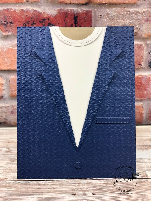 Masculine Card with the Suit and Tie Dies.