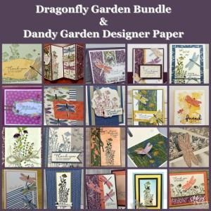Twenty Cards With The Dragonfly Garden Bundle