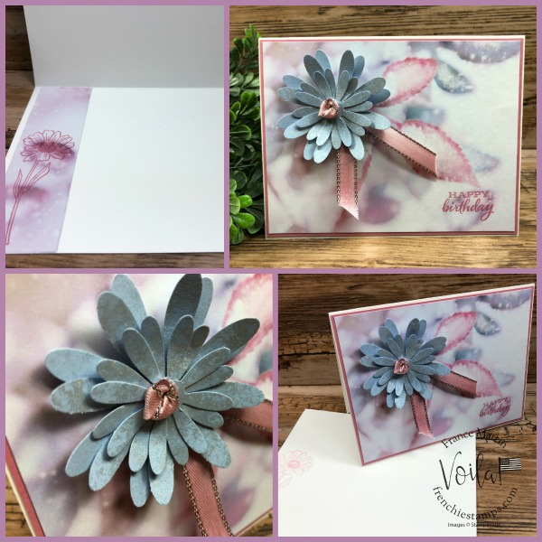 Feels Like Frost designer paper with Daisy punch