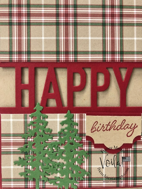 Tip for the Happy Die by Stampin'Up!