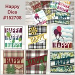 Tip for the Happy Die by Stampin