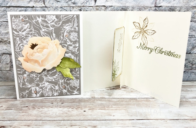 Prized Peony Gift Card holder
