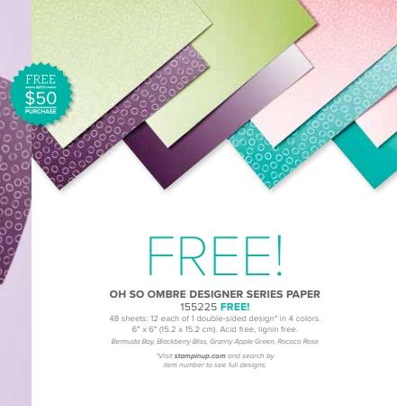 Oh So Ombre Designer Paper