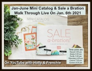 Walk Through of the Jan-June Mini Catalog and Sale A Bration 2021
