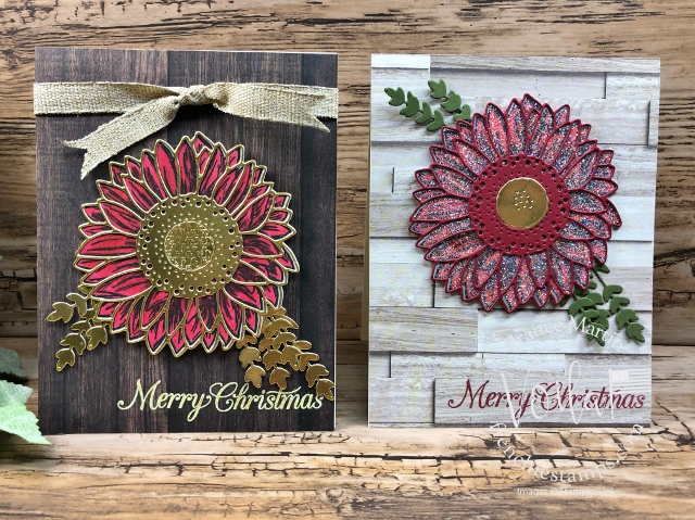 Celebrate Sunflowers   for Christmas card.