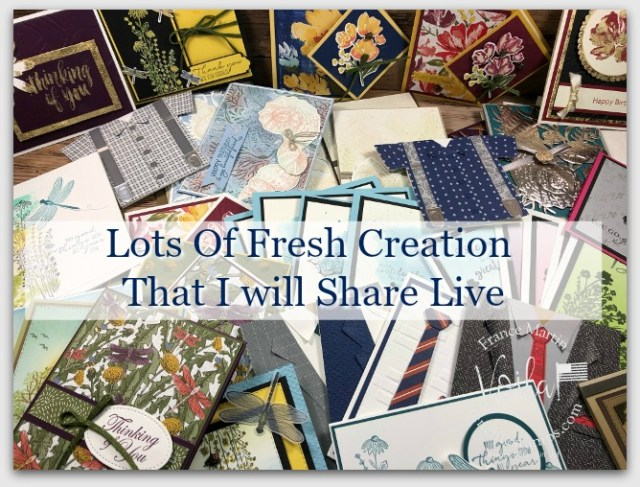 Fresh Creation from the Jan-June 2021 Mini catalog