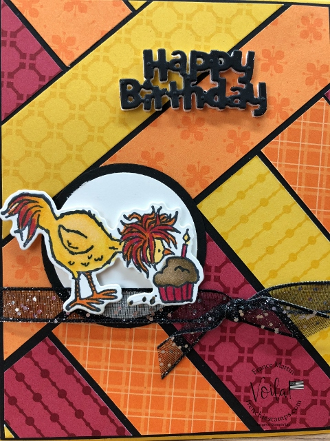 Strips Technique and Hey Birthday Chick