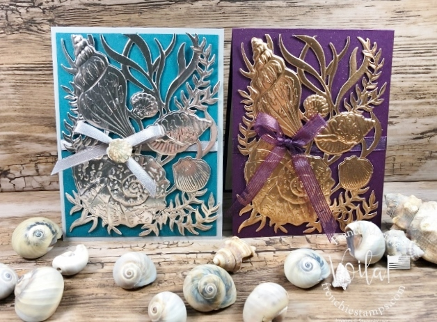 Seaside Seashells With Foil Sheets