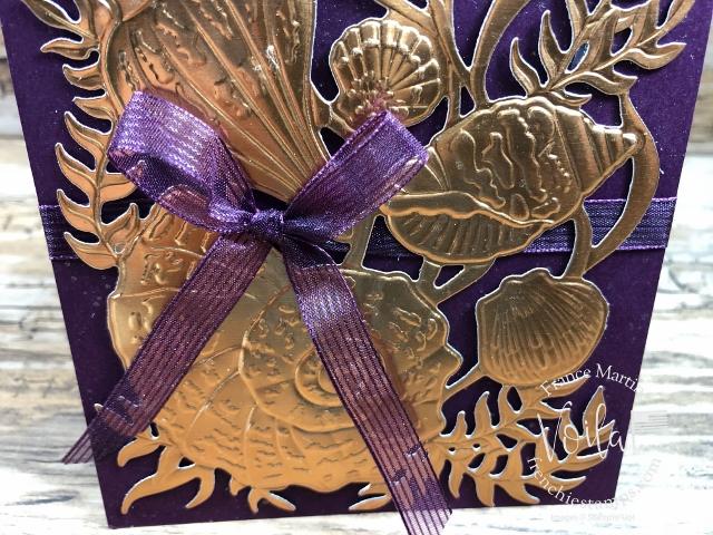 Foil Paper with Seaside Seashells Dies, Seashells 3D embossing Folder.