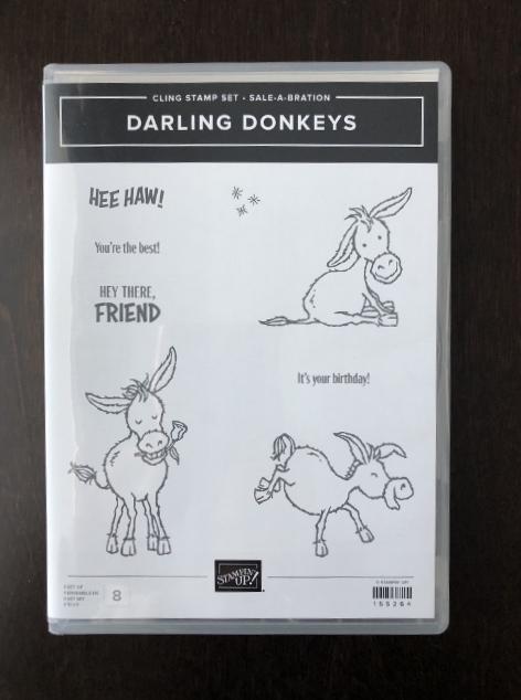 Darling Donkeys stamp Set