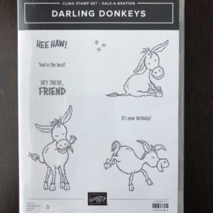 Darling Donkeys  stamp Set