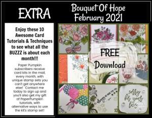 Bouquet Of Hope Paper Pumpkin Extra Inspiration
