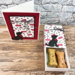 Playful Pets Treat Box and card combo.