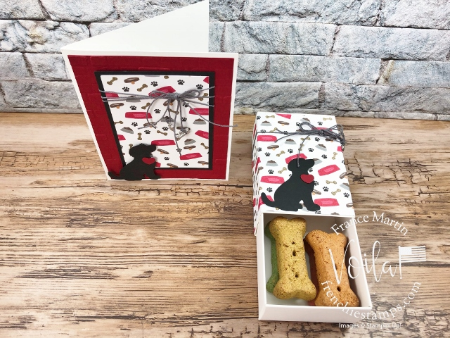 Playful Pets Treat Box And Card Combo