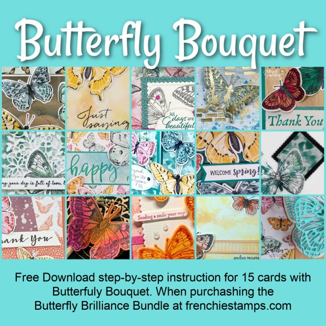 Butterfly Bouquet Free Download 14 cards