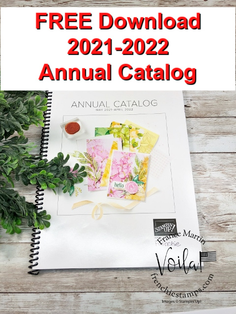 2021-2022 Stampin'Up! Catalog free download