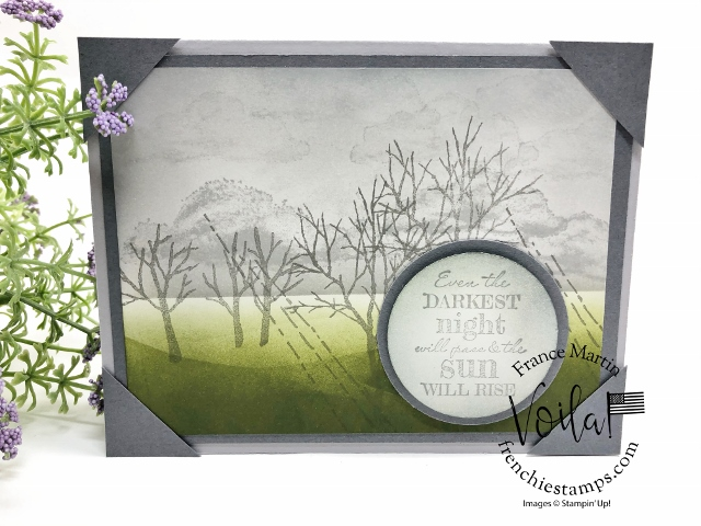 After the Storm with Snow Front stamp set