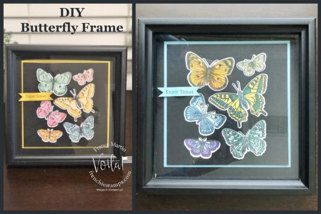 DIY Simple Butterfly Frame with the Butterfly Brilliance