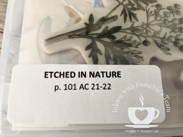 Labels to organize your Stampin'Up! stampsets from the 2021-2022 annual catalog