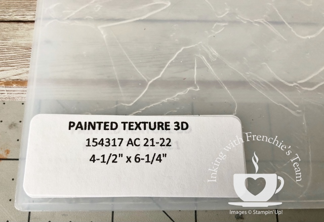 Labels to organize your Stampin'Up! embossing folder from the 2021-2022 annual catalog