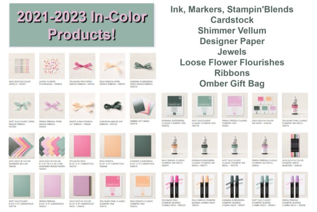 Product that is available in the New In-colors 2021-2023