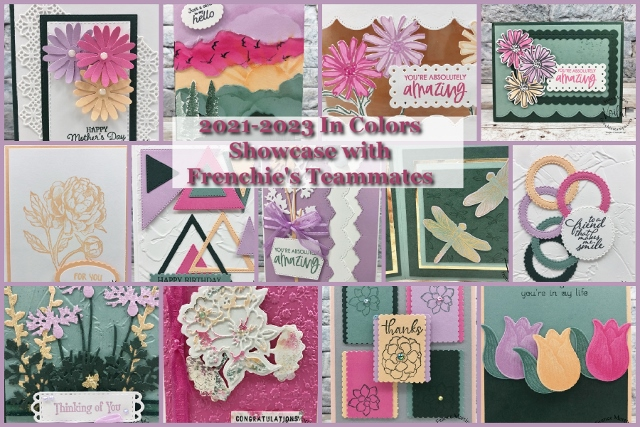 Beautiful Showcase of cards with the 2021 2023 In Color created by Frenchie' Team.