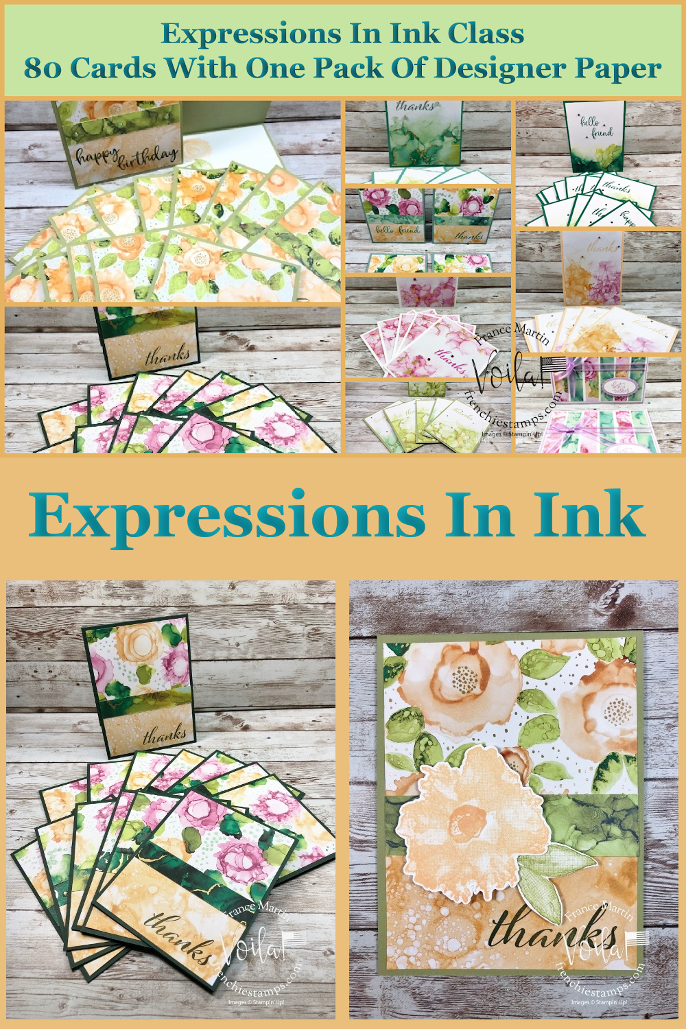 Card Class with Expressions In Ink Designer Paper