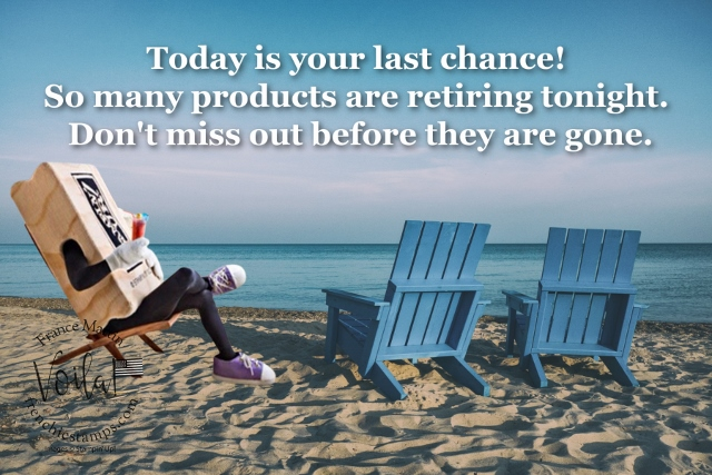 Last Chance on 2020-2021 Retiring Products!
