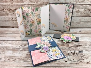 Triple Panel Card with Belly Band