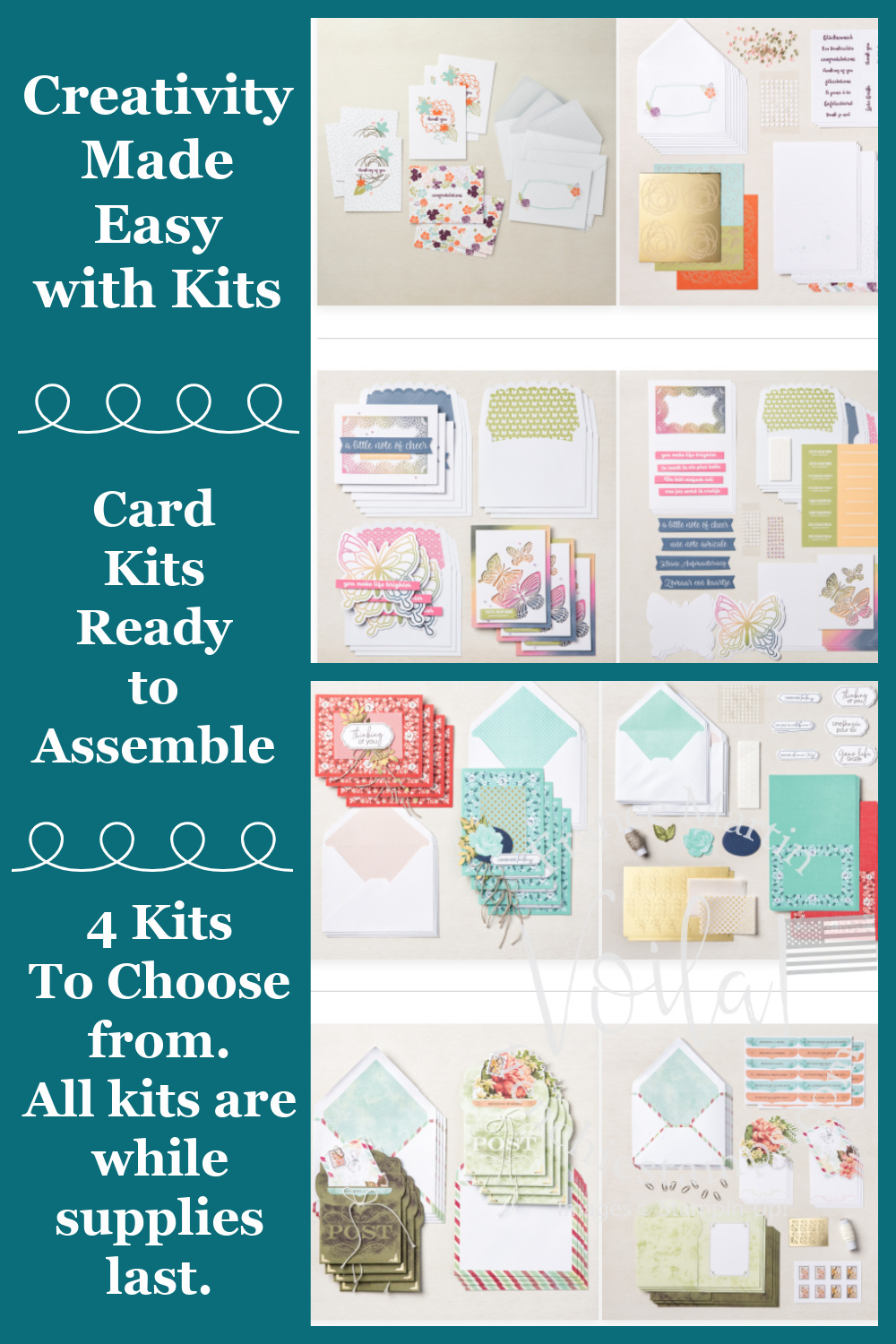 All Inclusive Card Kits by Stampin\'Up!