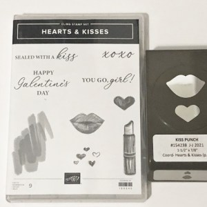 Hearts & Kisses Bundle with Punch