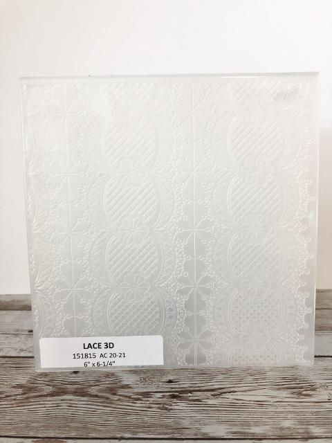 Lace 3D Embossing Folder