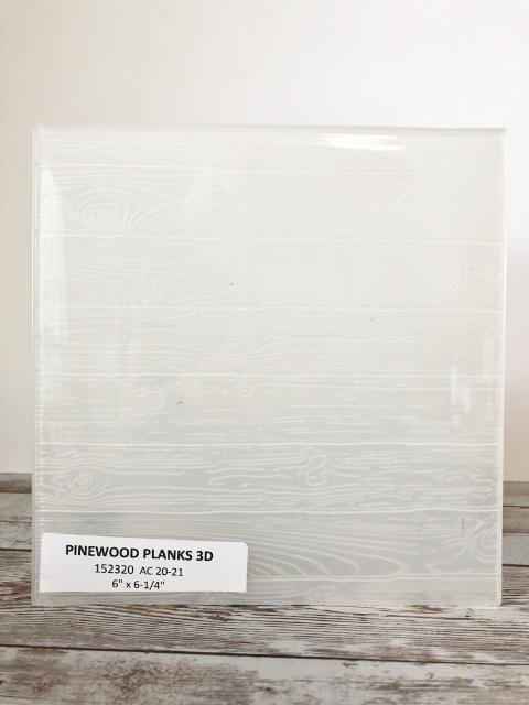 Pinewood Planks 3D Embossing Folder